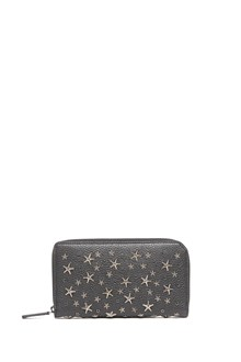 JIMMY CHOO studs and swarowsky wallet