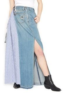 ONEDRESS ONELOVE popeline inserts skirt