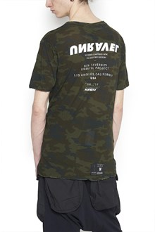 UNRAVEL camouflage t-shirt