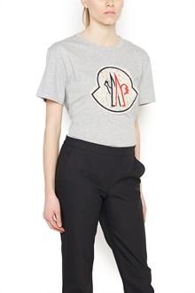 MONCLER GAMME ROUGE logo t-shirt