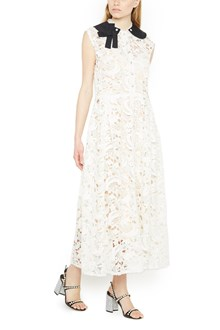 MIU MIU lace long dress