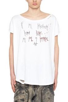 FAITH CONNEXION destroyed t-shirt