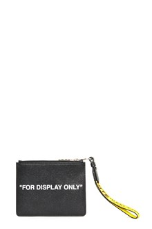 OFF-WHITE 'virgil was here' clutch