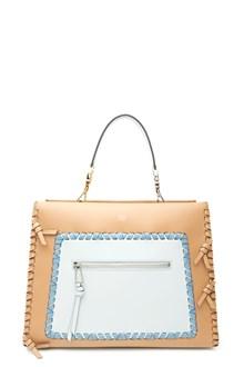 FENDI 'runway lace up' hand bag