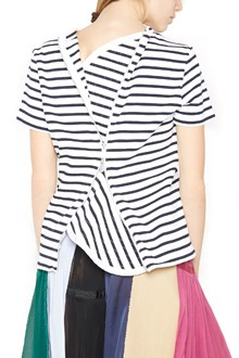 SACAI 'dixie stripes' t-shirt