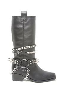 MOSCHINO biker boots