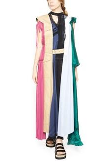 SACAI 'mix dress' long dress