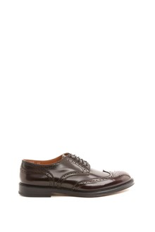 DOUCAL'S swallow's tail lace up shoes