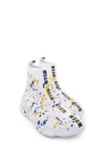 MSGM multicolor spray sneakers