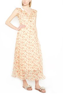 MIU MIU printed narcissus dress