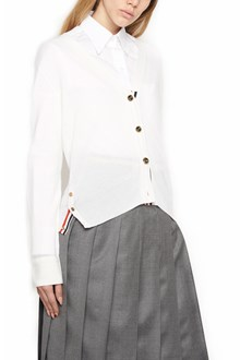 THOM BROWNE tromp l'oeil embroidered cardigan