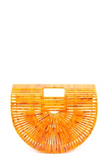 CULT GAIA 'acrylic ark' small hand bag