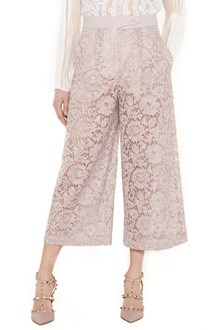 VALENTINO lace coulotte pants