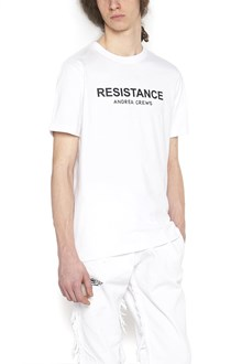 ANDREA CREWS 'resistance' t-shirt