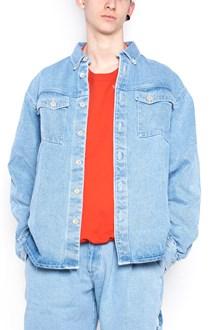 GOSHA RUBCHINSKIY 'bleached denim' jacket