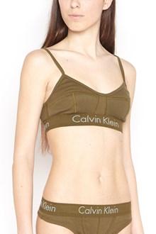 CALVIN KLEIN JEANS logo band bra