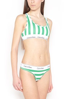 CALVIN KLEIN JEANS multicolor stripes bra
