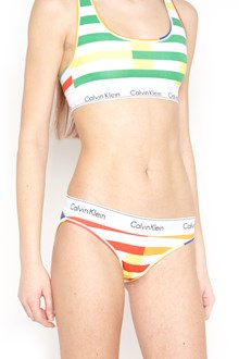 CALVIN KLEIN JEANS multicolor stripes slip