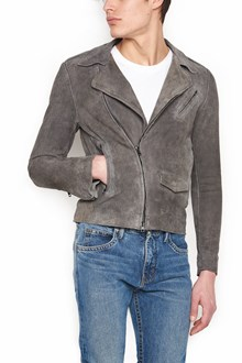 SALVATORE SANTORO yuta effect leather jacket