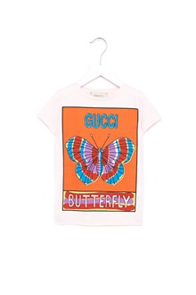 GUCCI t-shirt stampa farfalla