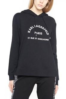 KARL LAGERFELD printed hoodie
