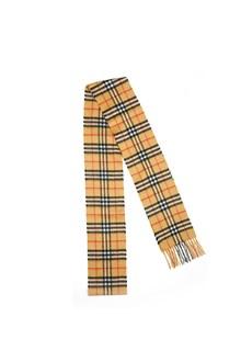 BURBERRY 'skinny vintage check' scarf