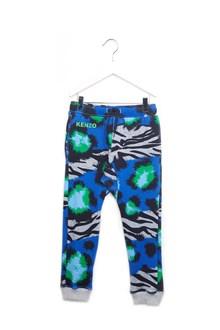 KENZO KIDS printed sweatpants