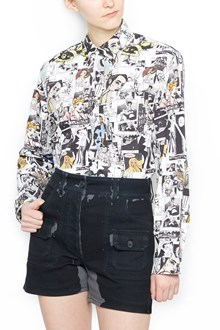 PRADA 'comics collage' shirt