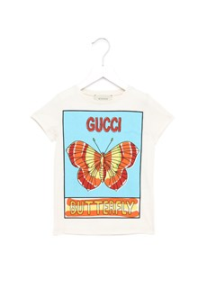 GUCCI printed butterfly t-shirt