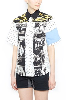 PRADA patchwork shirt