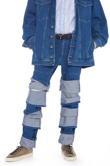Y/PROJECT 'triple cuff' jeans
