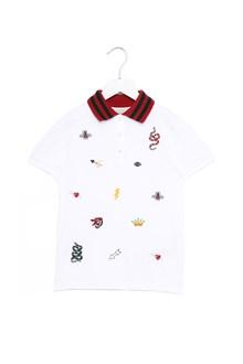 GUCCI embroidered polo