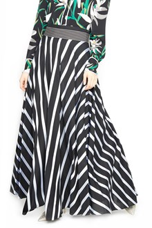 DIANE VON FURSTENBERG stripes printed skirt