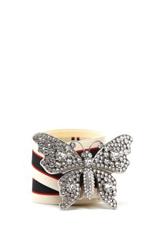 GUCCI swarowsky butterfly belt