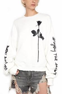 R13 'enjoy the silence' sweatshirt