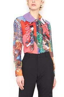 COMME DES GARÇONS all over printed shirt