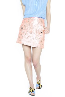 PRADA brocade mini skirt