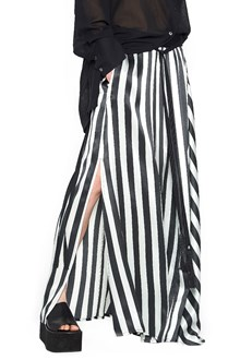 ANN DEMEULEMEESTER vertical stripes skirt