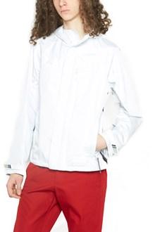 PRADA LINEA ROSSA rubber logo jacket