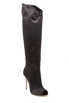 GIUSEPPE ZANOTTI open toe knee-high boots