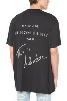 IH NOM UH NIT beads application t-shirt