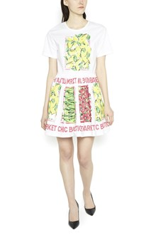 BOUTIQUE MOSCHINO all over printed dress