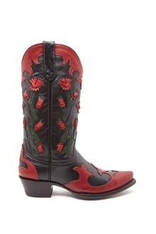 JESSIE WESTERN 'old gringo' texan boots