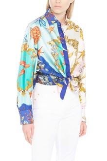 VERSACE shirt from versace: silk tresor de le mer print ss 92 archive shirt