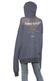 UNRAVEL 'tour mesh hybrid' hoodie