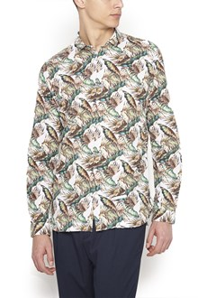 DNL printed leaves shirt