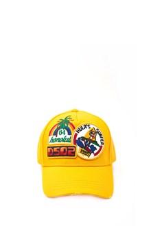 DSQUARED2 cappellino multilogo