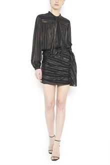 SAINT LAURENT lurex dress