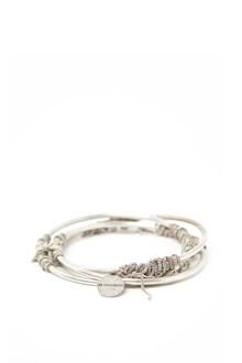 ANN DEMEULEMEESTER three in one bracelet
