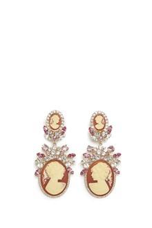 DOLCE & GABBANA cammeo earrings